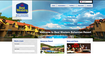 BEST WESTERN BOHEMIAN RESORT